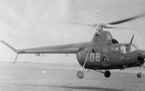 2.Ми-1У в полете. 1960 г.