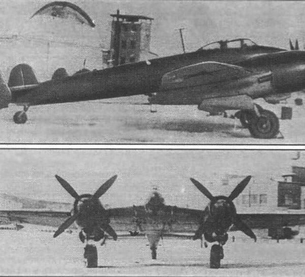 2.МиГ-5 с двигателями АШ-82.