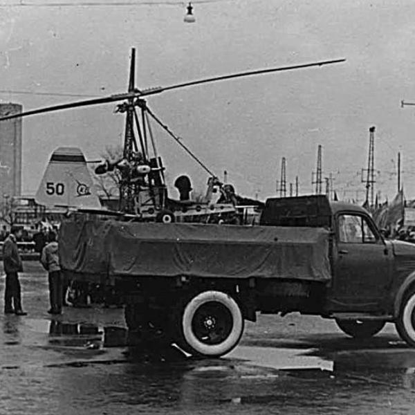 2.Наземные испытания автожира Рига-50