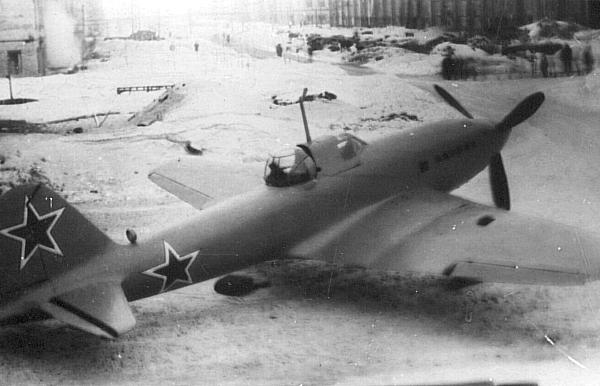 2.Опытный Ил-10. 2