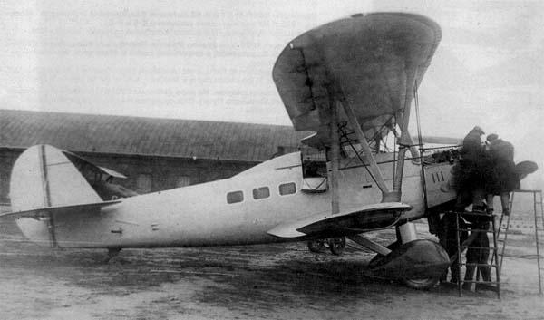 2.Первый опытный ПР-5.