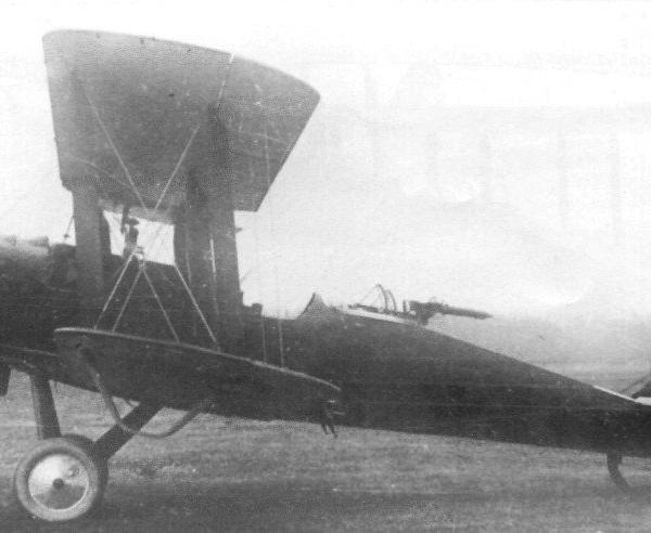 2.Самолет-разведчик Р-2 с двигателем М-5 (Р-1СП).