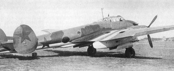 2.Тяжелый истребитель Пе-2И.
