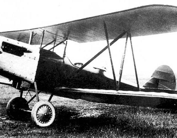 2.Учебно-тренировочный самолет П-2.