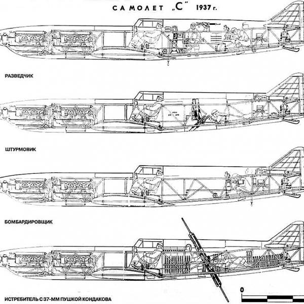 2.Варианты И-1 Болховитинова. Схема.