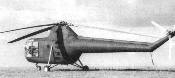 2.Вертолет Як-100. 2