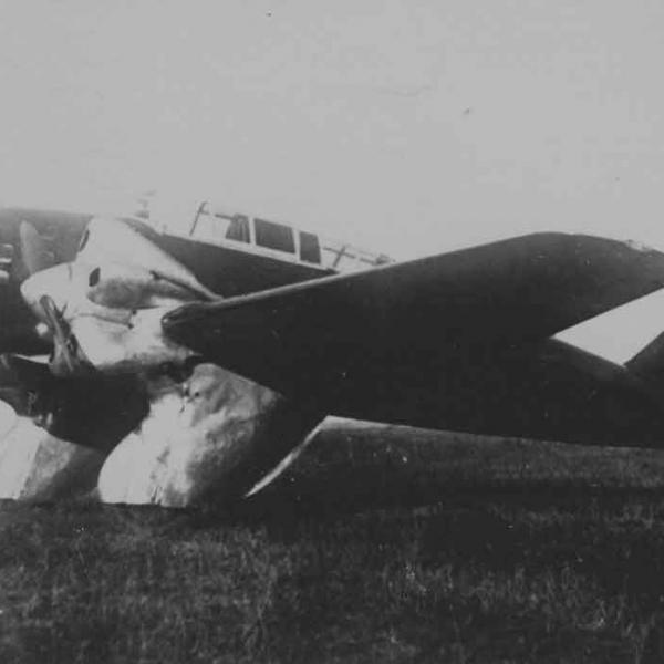 2.Второй экземпляр КАИ-1 на испытаниях.