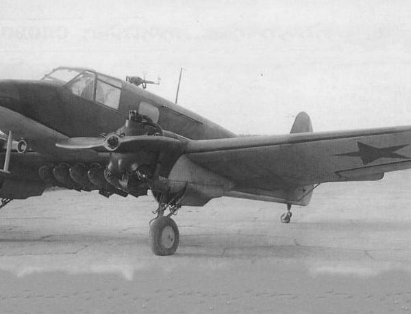 2.Як-6 в варианте НББ. НИИ ВВС октябрь 1942 г.