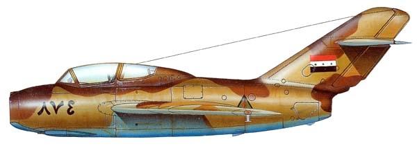 20.МиГ-15УТИ ВВС Ирака. Рисунок.
