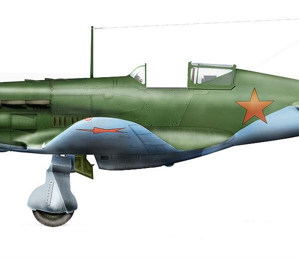 20.МиГ-3 ранних серий. Рисунок 1.
