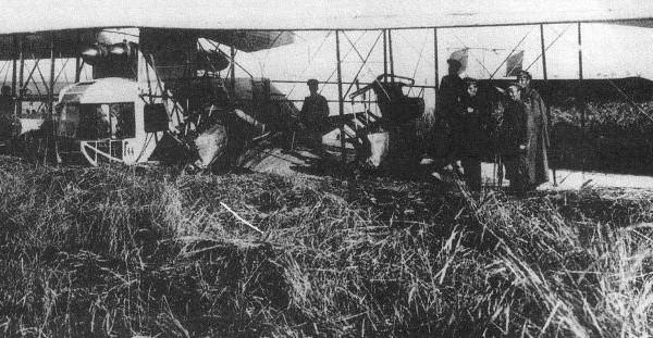 21.ИМ серии Г (зав. № 190) после аварии на Зап.фронте 16 июля 1916 г.
