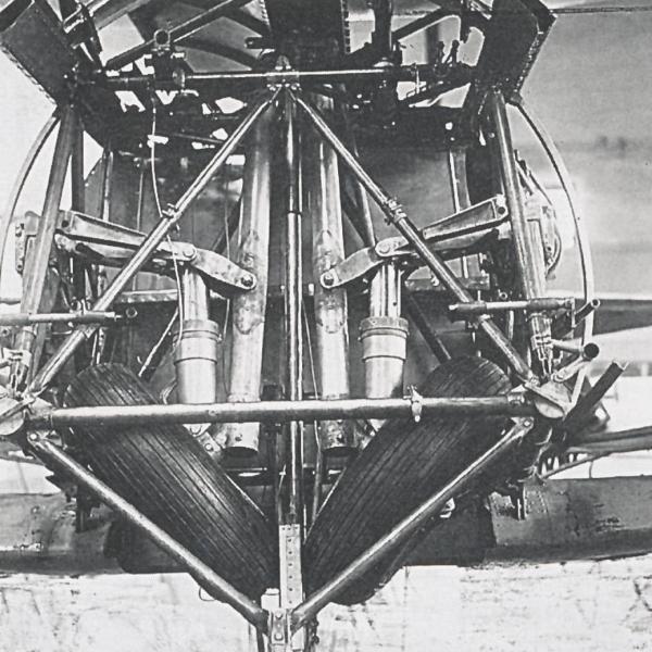 21.Механизм уборки шасси И-207-3.