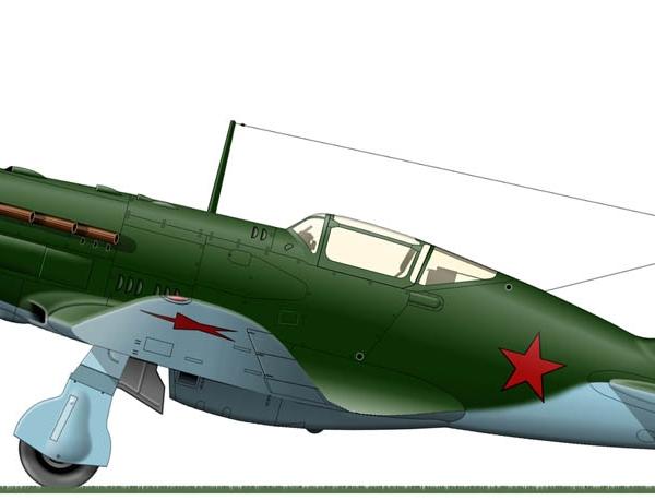 21.МиГ-3 ранних серий. Рисунок 2.
