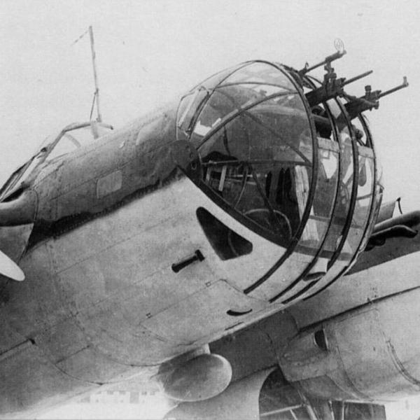 22.Носовая часть СБ-2М-104.
