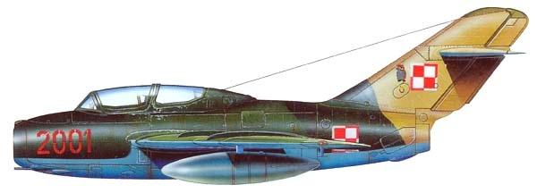22.SBLim-2 ВВС Польши. Рисунок.