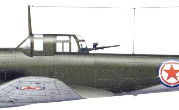22а.Ил-10 ВВС КНДР. Рисунок.