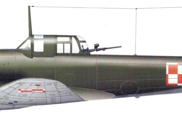 22г.Ил-10 ВВС ПНР. Рисунок.
