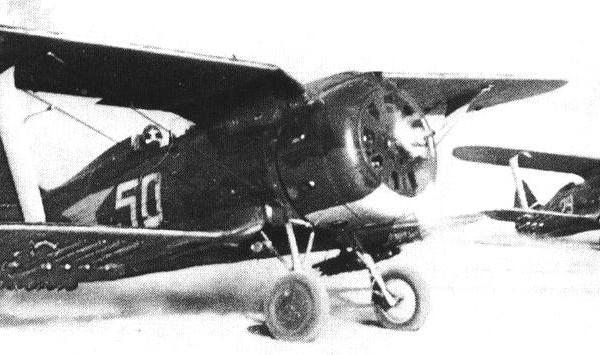 23.И-153 штурмового авиаполка. Зима 1941 г.