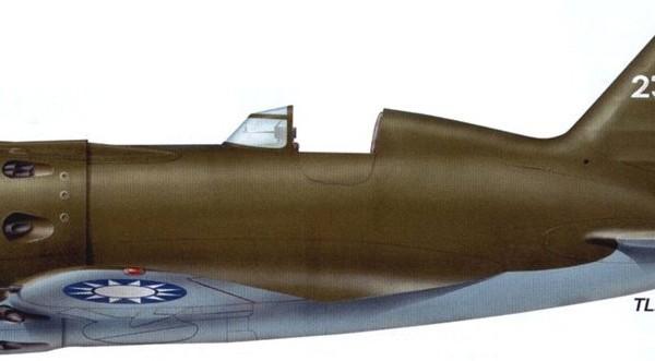 25.И-16 тип 10 ВВС Гоминьдана. 2 Рисунок.