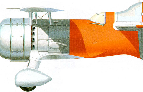 25.Самолет № 7211. Рисунок.
