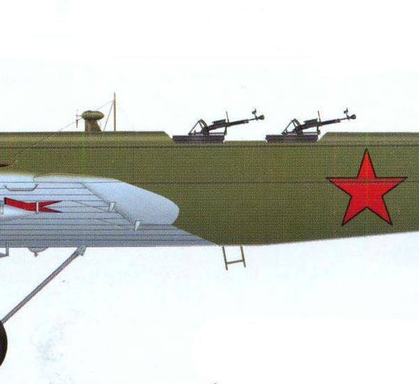 25.Серийный ТБ-1. Рисунок.