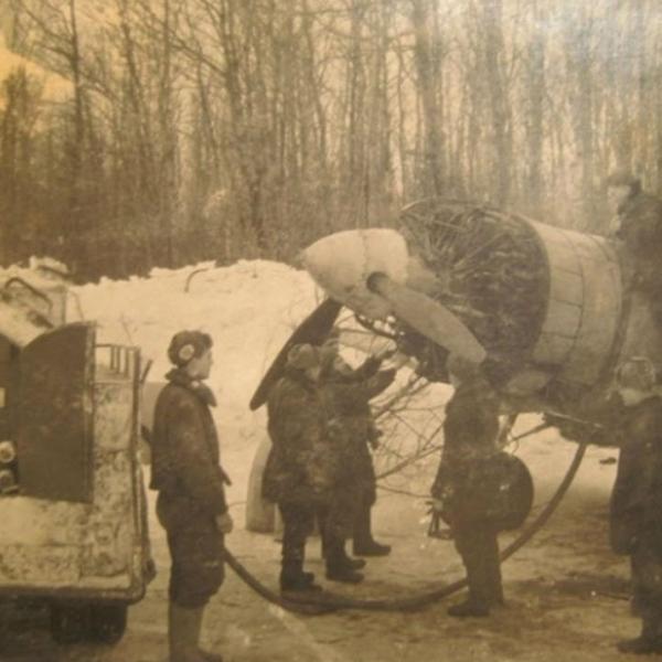 25.Су-2 на стоянке. Зима 1941 г.Фото 3.