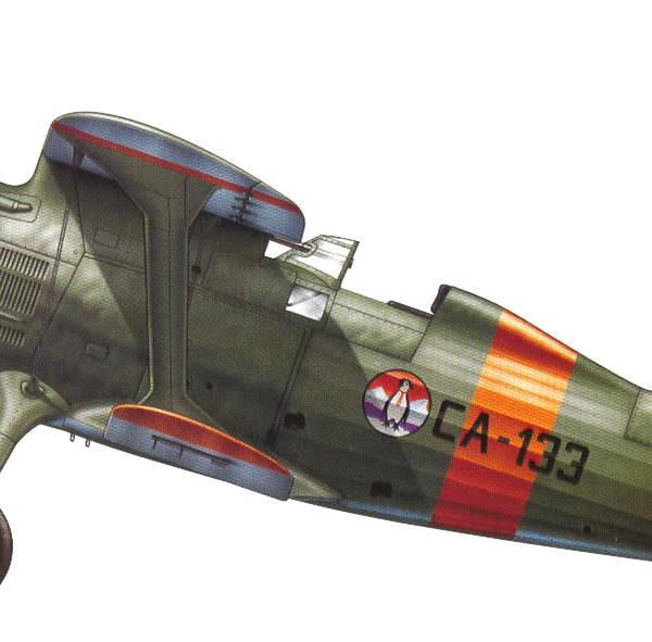 26.И-15 ВВС республик. Испании. Рисунок. 2