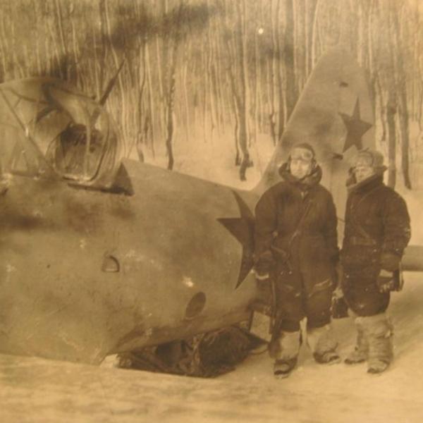 26.Су-2 на стоянке. Зима 1941 г.Фото 4.