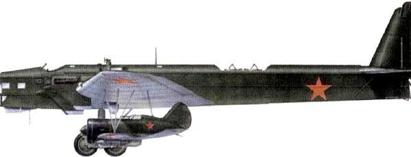 26.Звено-СПБ. Нос. ТБ-3М-17 и И-16 тип 5 с закрытым фонарём.