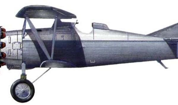 27.Первый опытный АНТ-5. Рисунок.