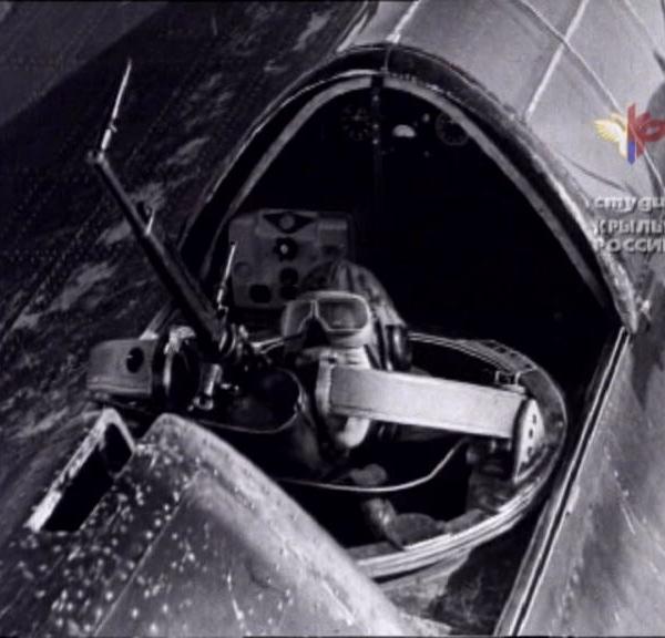 28.Турель стрелка-радиста СБ-2.