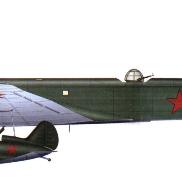 29.Звено-СПБ. Нос. ТБ-3М-34 и 2 И-16 тип 24.