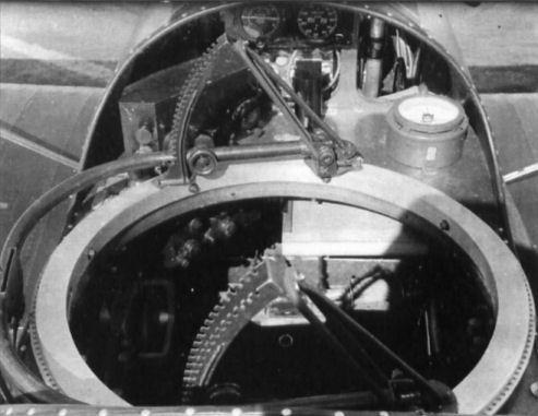 29а.Турельная установка в задней кабине Р-5.