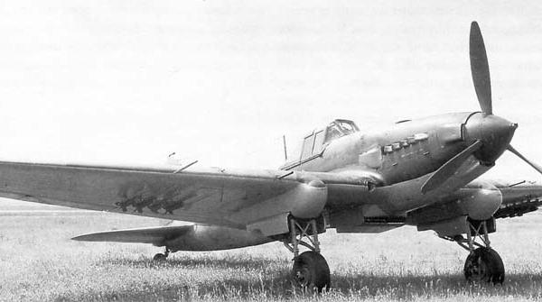 2а.Ил-2 на испытаниях в НИИ ВВС.