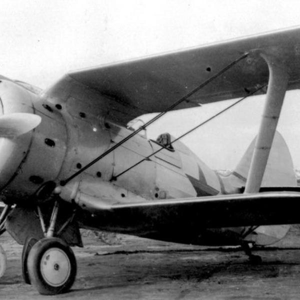 3.Истребитель И-153 Чайка с мотором М-62