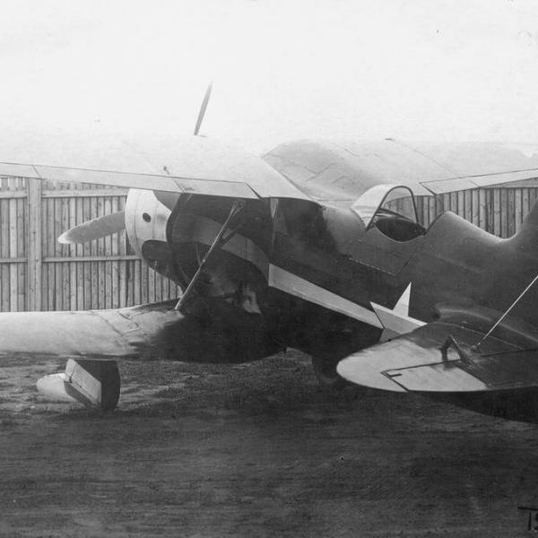 3.Истребитель ИС-1.