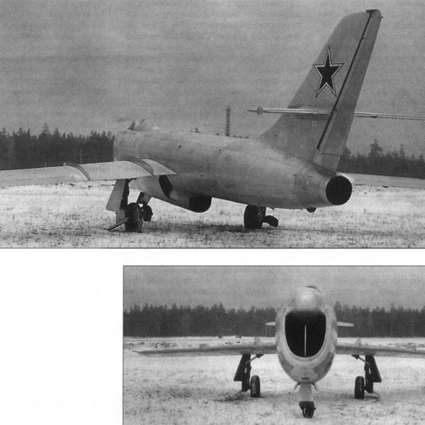 3.Истребитель-перехватчик Су-15 (первый).