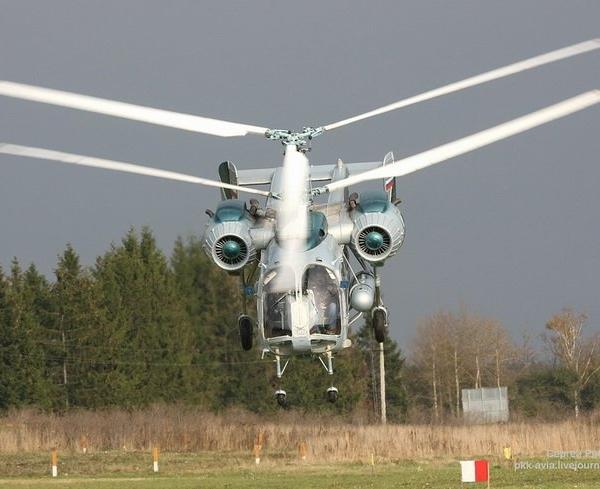 3.Ка-26 взлетает.