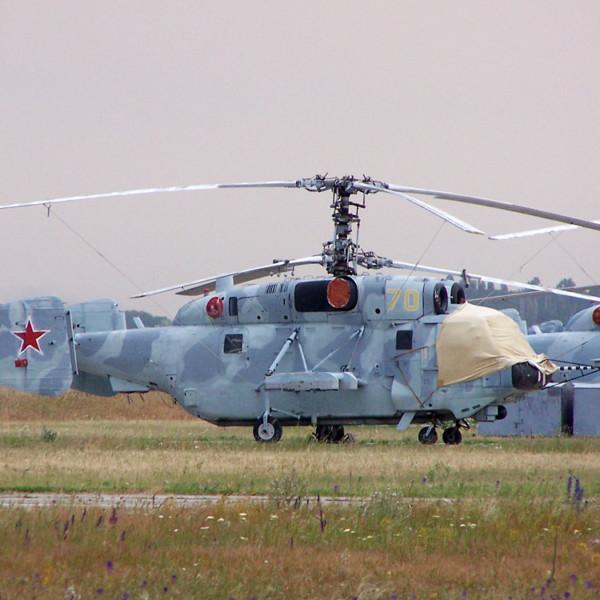 3.Ка-29 на стоянке.