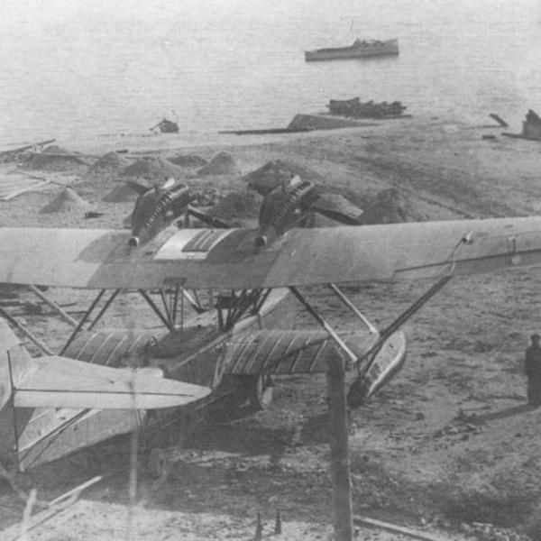 3.Летающая лодка РОМ-2. 2