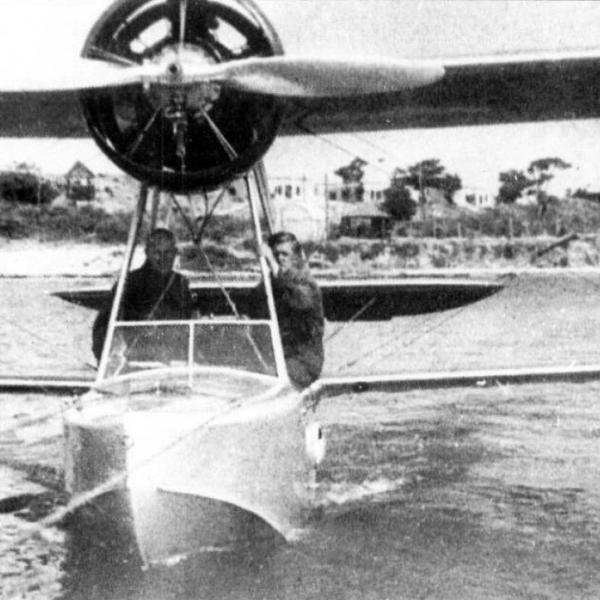 3.МУ-4 на воде.