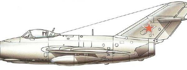 3.МиГ-15 (СА-1). Рисунок.