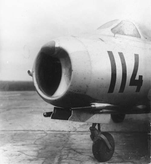3.Носовая часть МиГ-17 (СГ).