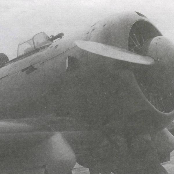 3.Носовая часть штурмовика ИП-1ш.