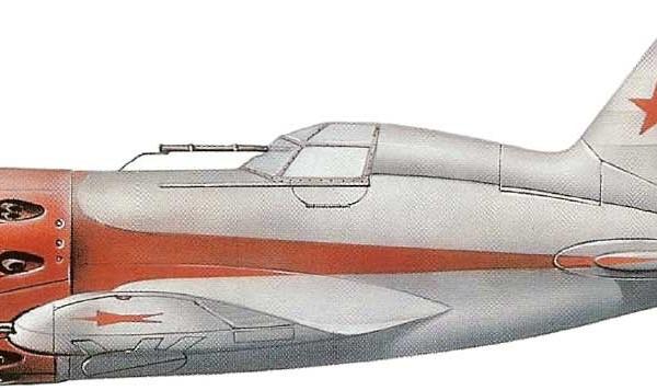 3.Опытный И-16 тип 12. Рисунок.