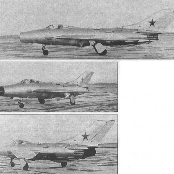 3.Опытный истребитель СМ-12-1.