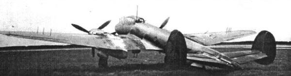 3.Пе-3 с радиолокатором Гнейс-2 в НИИ ВВС.