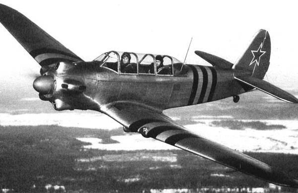 3.Самолет-лидер Як-18 авиазавода №135.