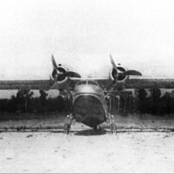 3.ТА-1 (1-й экземпляр). Вид спереди.