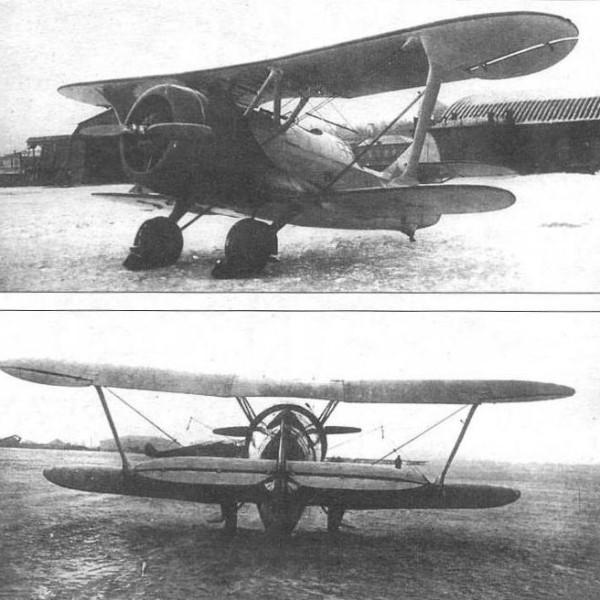 3.ЦКБ-11 с двигателем Wright Cyclone F-3 на предварительных испыт. Декабрь 1935 г.